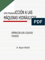 8.1-CURSO Máquinas Hidráulicas - Operación de Bombas Centrífugas Con Líquidos Viscosos