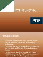 bronkopneumonia