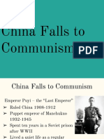 china falls to communism