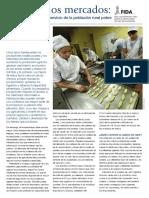 Acceso a Los Mercados. Las Cadenas de Valor Al Servicio de La Población Rural Pobre - FIDA