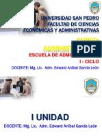Clase de Administracion i Administracion 2018 i