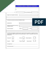 Formulario Registral n 1 Ley 27157