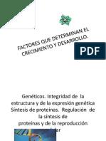 FACTORESde CRECIMIENTO Y DESARROLLO gen