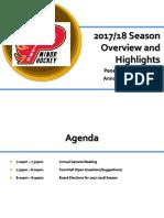 PMHA AGM Presentation (2017-18)