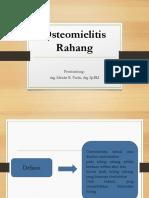 Osteomielitis Rahang