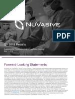 Nuvasive 1Q18 SupplementalWebsiteSlides FINAL