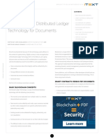 Blockchain for Documents Dzone Refcard