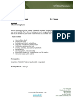 CADtech Seminars - AutoCAD_Advanced