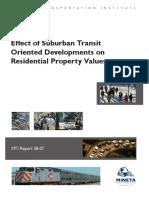 Effects Suburban Transit 2009