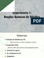 Metodologia Exp 1 Bioquímica Experimental II