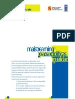 MainstreamingdeGeneroyPoliticasdeIgualdad2010