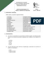 Disc. 2. Unidad II. CINEMÁTICA DE TRASLACIÓN.doc