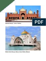 Islamic Temples