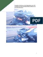 Accidente de Transito Ocurrido El Dia Jueves 14 de Septiembre a Las 7