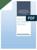Propuesta de Creación Facultad de Ciencias Sociales. Mayo 2018