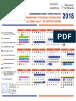Calendario de My Oxford English 2