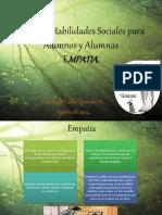 Taller de Habilidades Sociales Empatia