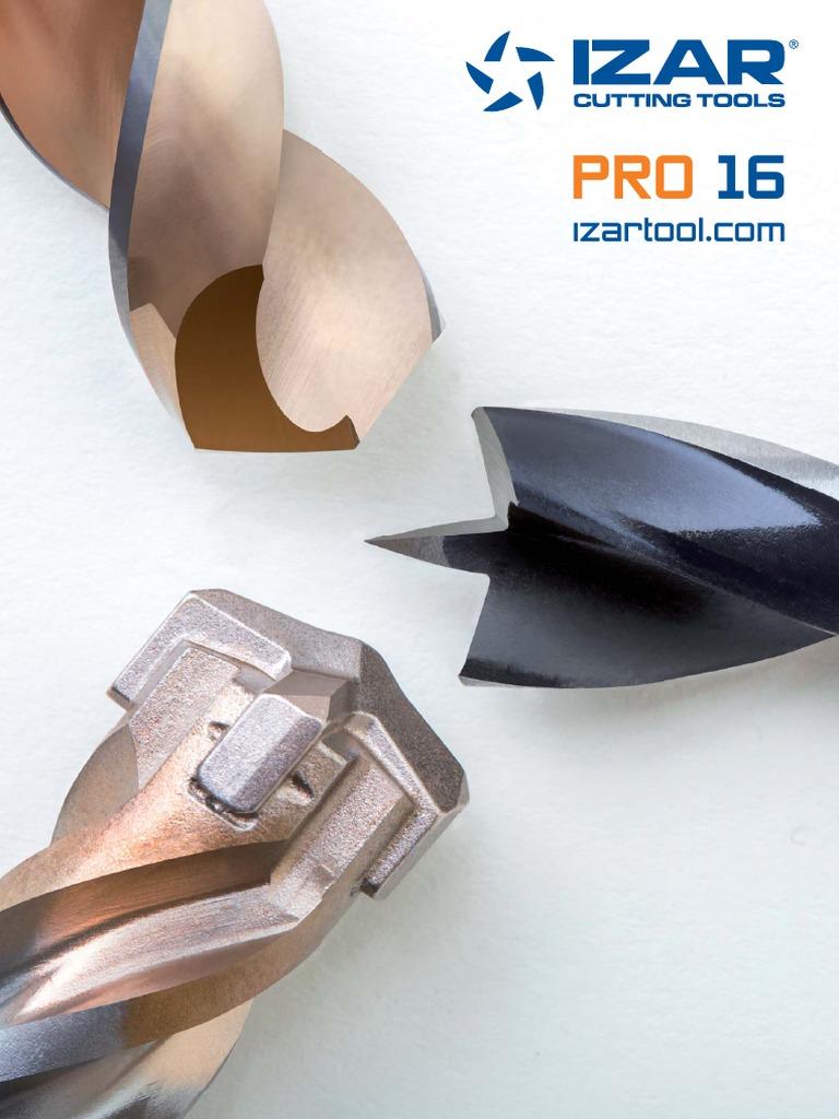 4.00 mm Di/ámetro Corte Izar 44090 Fresa Frontal Acabado HSS 1Z Aluminio Std W Serie Corta 4412