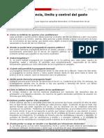 Ficha Transparencia Gasto Electoral