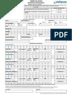 ODONTOPREV- Formulário de Inclusão