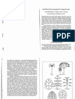 Architectural conceps for tropical trees por