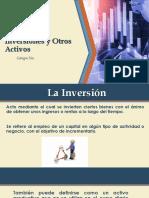 Auditoria Inversiones y Otros Activos