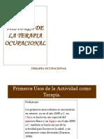 1 Historia de La Terapia Ocupacional.