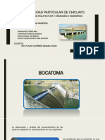 Bocatoma y Aliviaderos power point