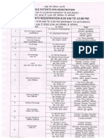Opd Schedule Aiims Rishikesh