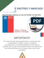 Manual SW Rastreo PC v8 2015 12 28