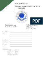 Bps Nursing Rfp 2018