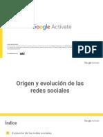 Origen y Evolución de Las Redes Sociales (MOOC)Modulo 8
