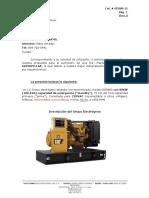 Generador Cat 100kva