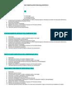 Documentación Por Diagnóstico