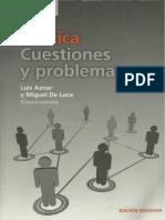 Aznar - Política Cuestiones y Problemas - Capítulo 1