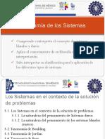 Taxonomía de Los Sistemas