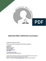 cópia de Manual do ministério do Homem Adventist Men's Ministries Curriculum