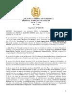 TSJ en El Exilio Declara La Suspension de Maduro Como Presidente de Venezuela
