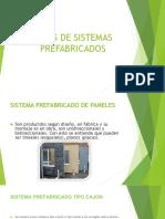 Tipos de Sistemas Prefabricados