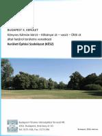 Kerületi Építési Szabályzat (KÉSZ) - Népliget