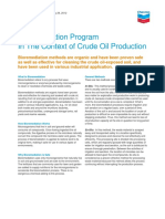 Bioremidiation Program