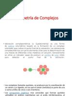 titulaciones complexometricas