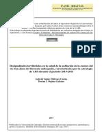 Desigualdades territoriales en la salud de la población de la cuenca del Rio San Juan del suroeste antioqueño