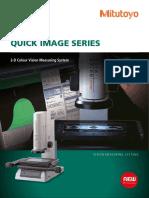 Mitutoyo - Optyczny System Wizyjny Quick Image Seria - PRE1421(2) - 2015 EN