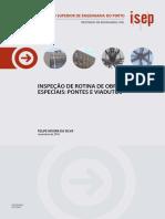 Livro - Inspeção de Rotina de Obras de Arte Especiais Pontes e Viadutos (ISEP) - 2016
