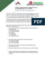 Plan de Izaje Horno BA-1 Cuerpo Cilindrico (Zona de Radiación)