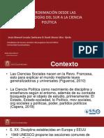 Aproximacion Desde Las Epistemologias Del Sur en La Cp