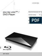 Manual Sony Bdp s6200
