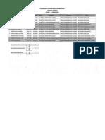 Programacion de Examenes de Arquitectura