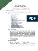 Caso Clinico Politraumatizado Dr Bustamante
